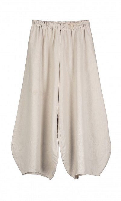 Balloon pants - beige