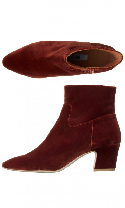 Dixi velvet boots