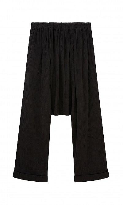 Black sirwal pants