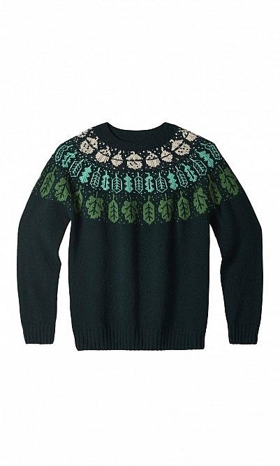 Dark Leaf Sweater
