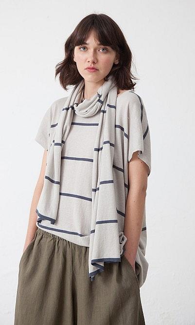Caz stripe scarf