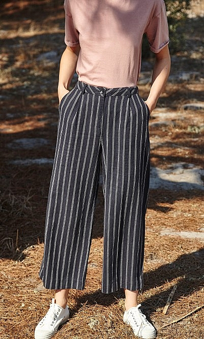 Double stripe pants