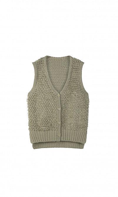 Clyde knit vest