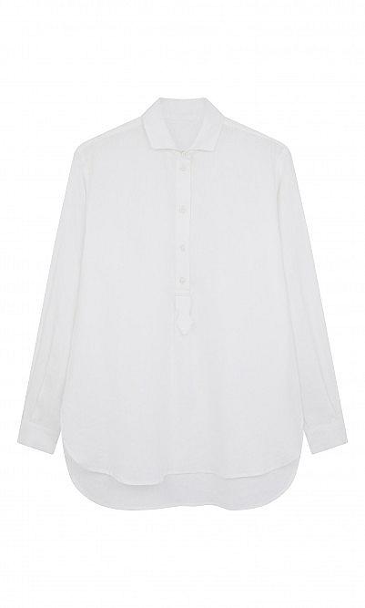 Tab Linen Shirt