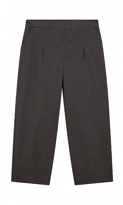 Black comb pants